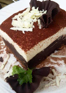 BROWNIE TIRAMISU (Without Alcohol)