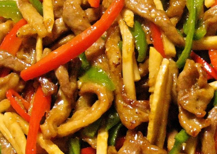 Authentic chinese food chinjao rosu beef and pepper stir fry authentic chinese food chinjao rosu beef and pepper stir fry forumfinder Image collections