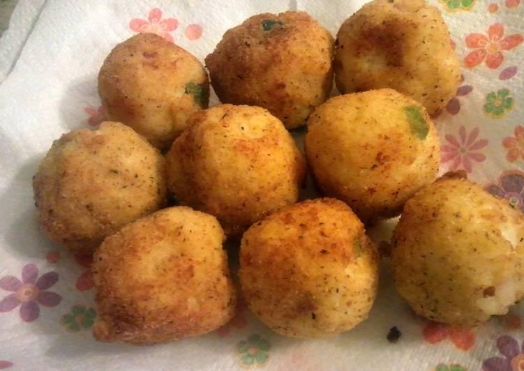how to make arancini rice balls