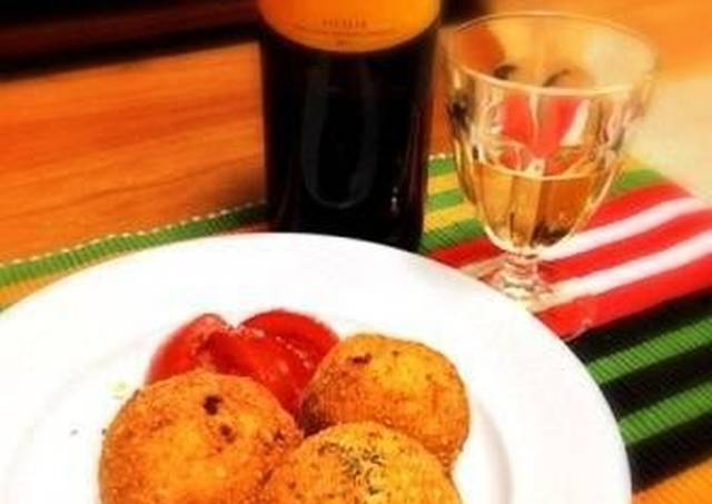 Saffron Arancini Recipe by cookpad.japan - Cookpad
