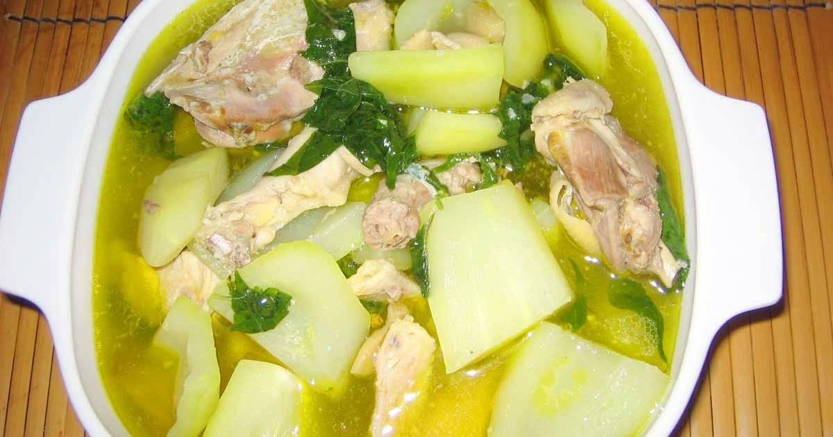 recipe: chicken tinola recipe [38]
