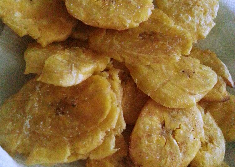 Tostones (Fried Platains)