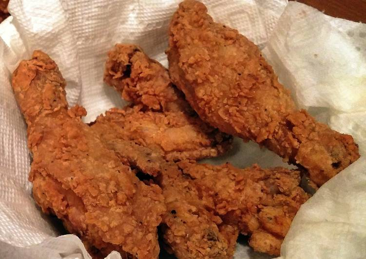 Paula Deens Fried Chicken Recipe By Downshiftwot Cookpad