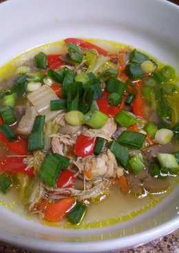 Asian inspired Chicken Soup
