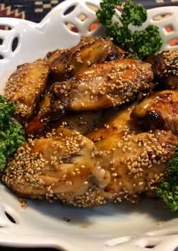 Japanese Teriyaki Chicken with pepper and sesame