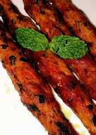 Chicken Seekh Kabab - Pan-fried