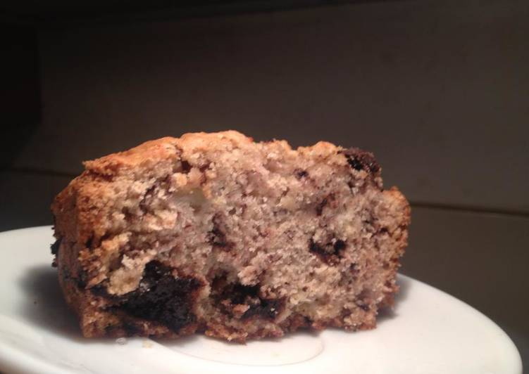 Healthier Banana bread - no butter - no sugar - no eggs
