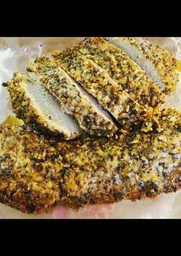 Crockpot Parmesan Honey Pork Loin Roast