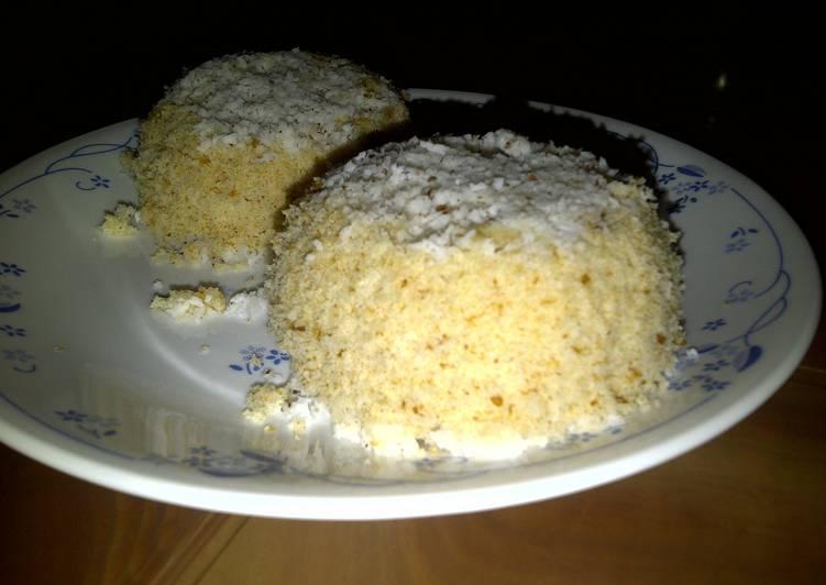 Bread Puttu / Steamed Bread Cake
