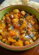Squash & chickpea curry