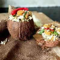 Coconut Gatta Rice Pilaf