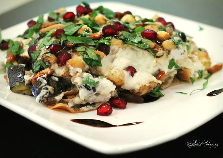 Eggplant Fatteh