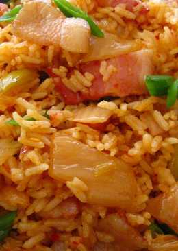 Bacon Kimchi Fried Rice (김치볶음밥)
