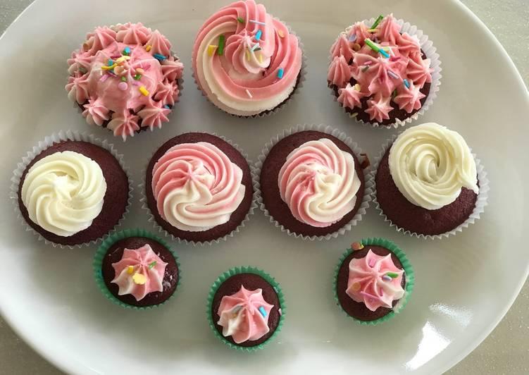 Beetroot Red Velvet Cup Cakes Recipe By Rekha Bapodra Cookpad Kenya