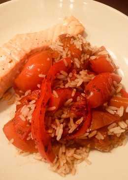 Balsamic Roasted Veggie Rice