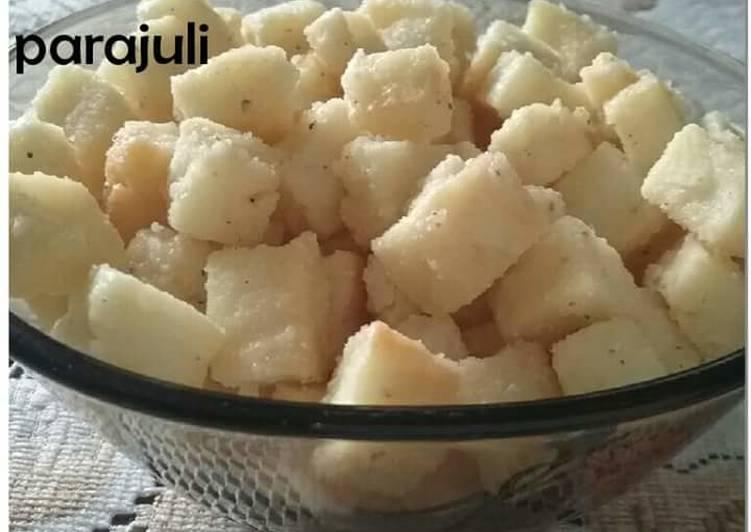 Homemade chhaina murki / murgi Recipe by Meena Parajuli