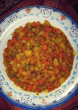 Beans & potato porridge