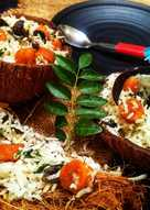 Coconut Gatta Biryani
