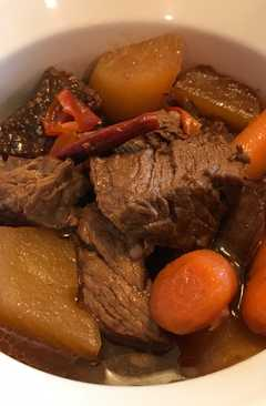 resep masakan chinese spicy beef stew