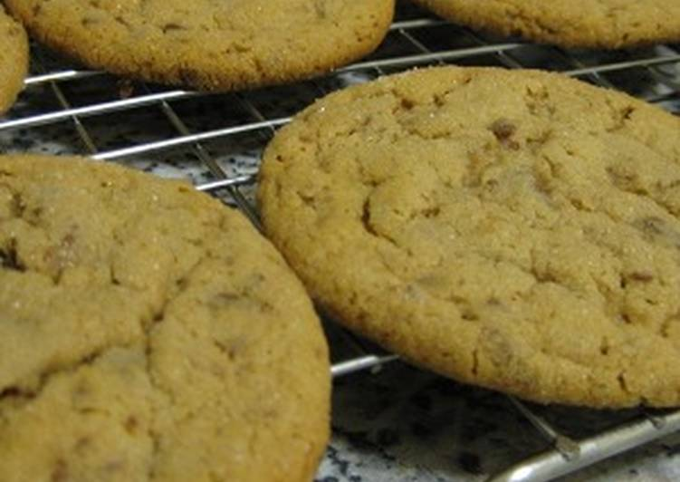 Peanut Butter Chocolate Toffee Cookies