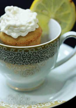 Earl Grey Tea Cupcake