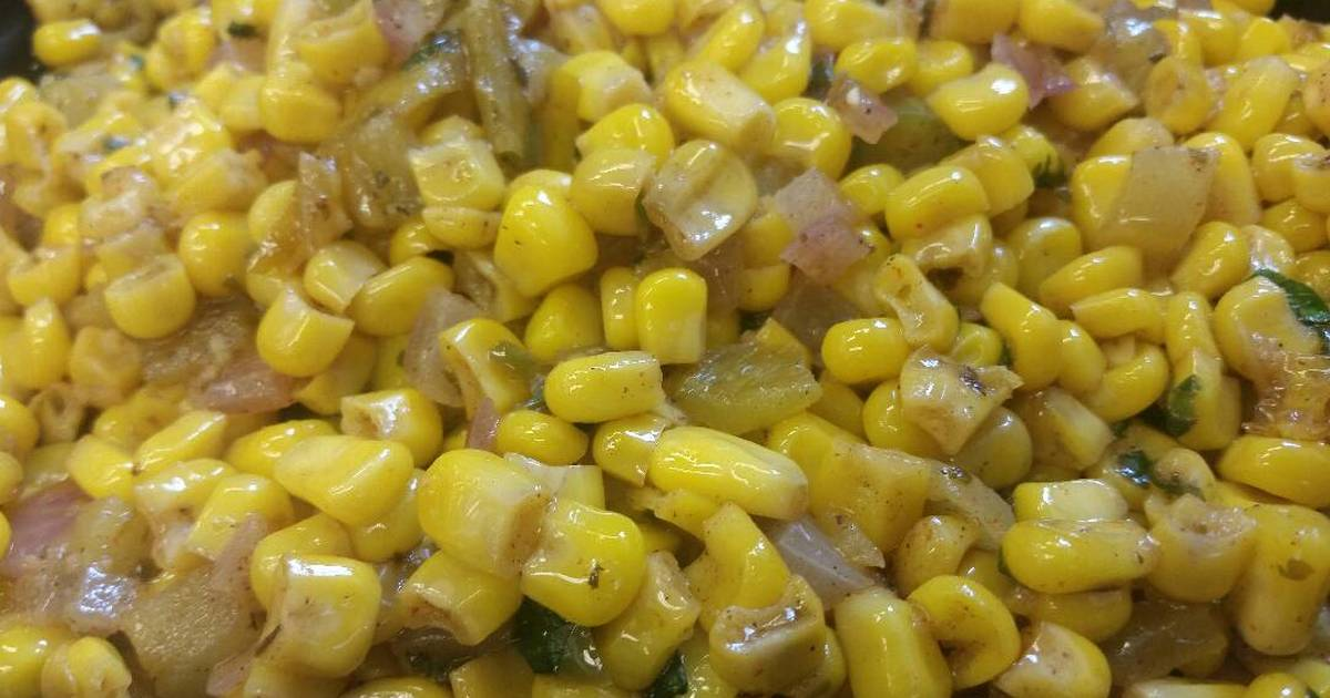 Corn w/ Coconut & Green Chiles #2 Recipe by ChefDoogles - Cookpad