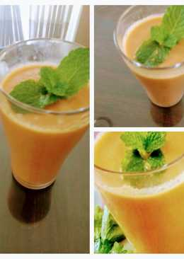 Carrot, Pomegranate and Celery Drinks