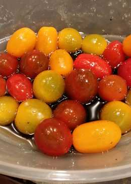 Brad's cherry tomato appetizer