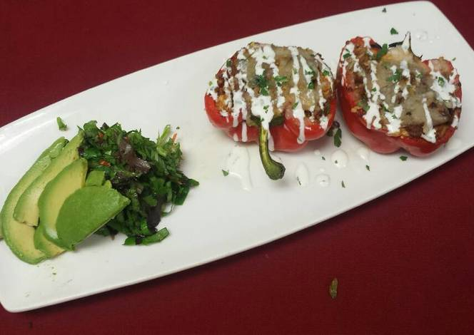 Resep Southwest stuffed peppers