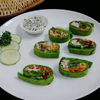 Spinach Veggie Pinwheels