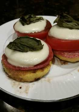 Brad's Italian style polenta appetizer