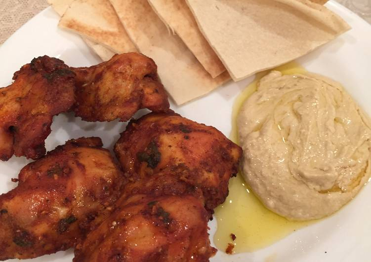 Yogurt and paprika barbecued Chicken