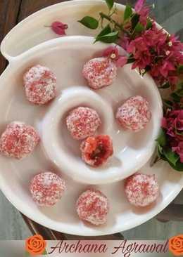 Paneer Petha & Coconut ke sweet rosy Laddoo