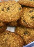 Oatmeal and Raisin Cookies