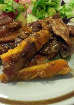 Sweet Potato and Bacon Salad