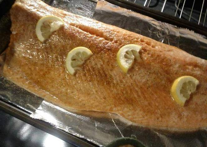 Resep Lemon Baked Salmon