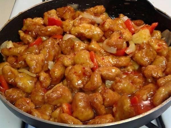 Panda Express Sweet Fire Chicken