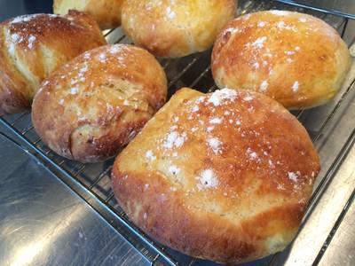 Baked Brioche Buns