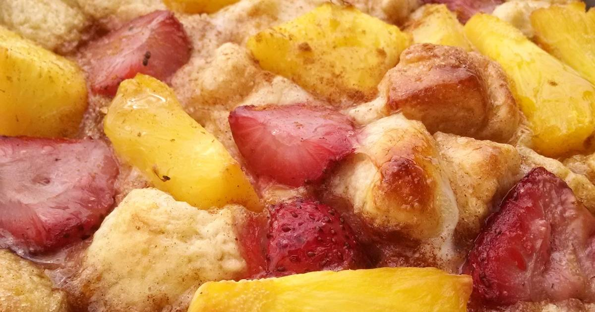 Sticky Bun French Toast Strata Recipe By Rachael Cookpad