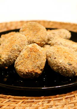 Baked Fish cutlet
