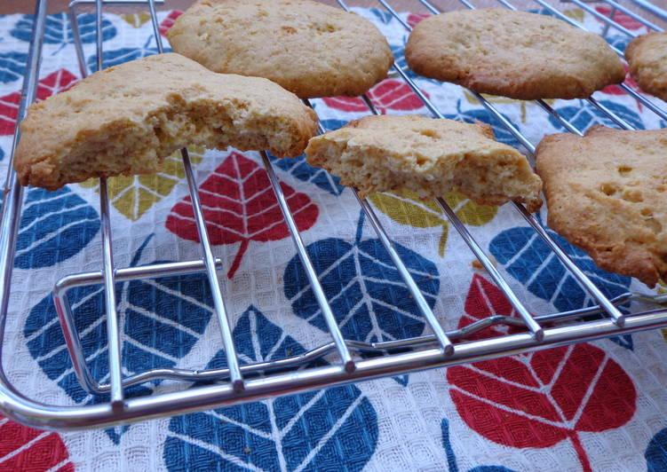 Wholewheat Lemon butter cookies