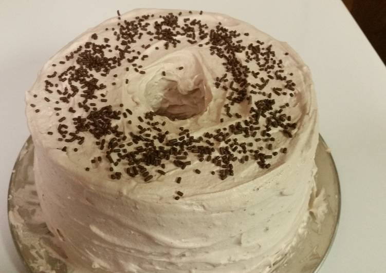 Mocha Angel Cake Recipe by Stephanie Goldman Cookpad