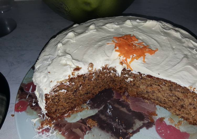 Carrot Cake Recipe Uk With Oil: CARROT CAKE Recipe By Mel.zie