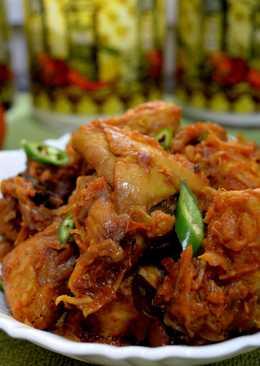Easy Chicken Ularthu / Nadan/desi chicken fry