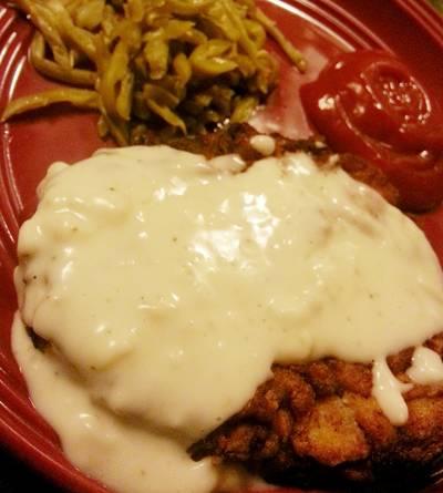 Chicken Fried Steak & Pepper Gravy