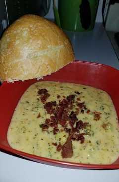 resep masakan cheddar broccoli soup