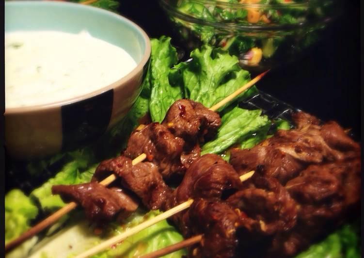 Grilled Thai Beef Skewers Recipe by perryrey - Cookpad