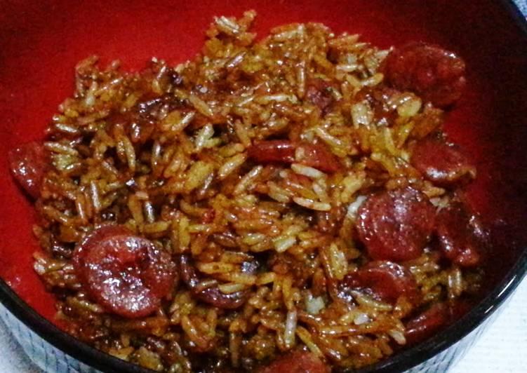 Claypot chinese sausage rice microwave method recipe by salg cookpad claypot chinese sausage rice microwave method forumfinder Images