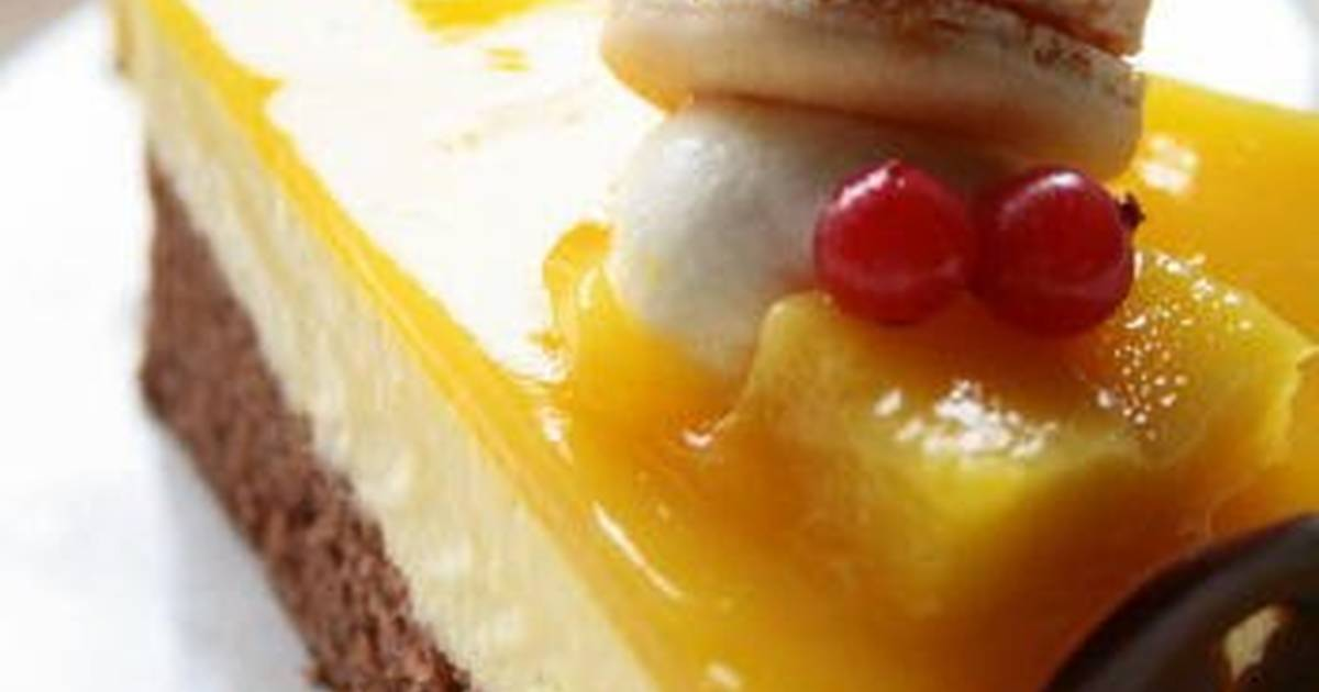 Mango Mousse Cake Recipe By Cookpad.japan