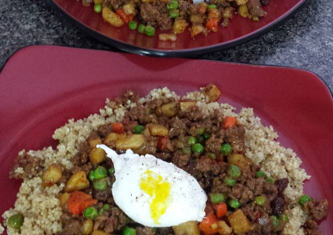 Resep Filipino Comfort Bowl (Giniling)